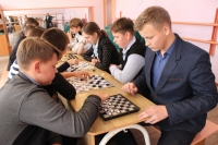Соревнование по шашкам