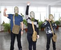 Соревнование по одеванию средств индивидуальной защиты