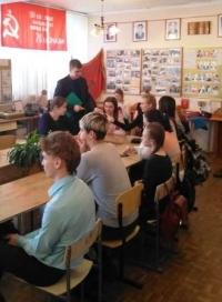 Встреча со старшеклассниками