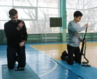 Соревнование «Сборка и разборка автомата Калашникова»